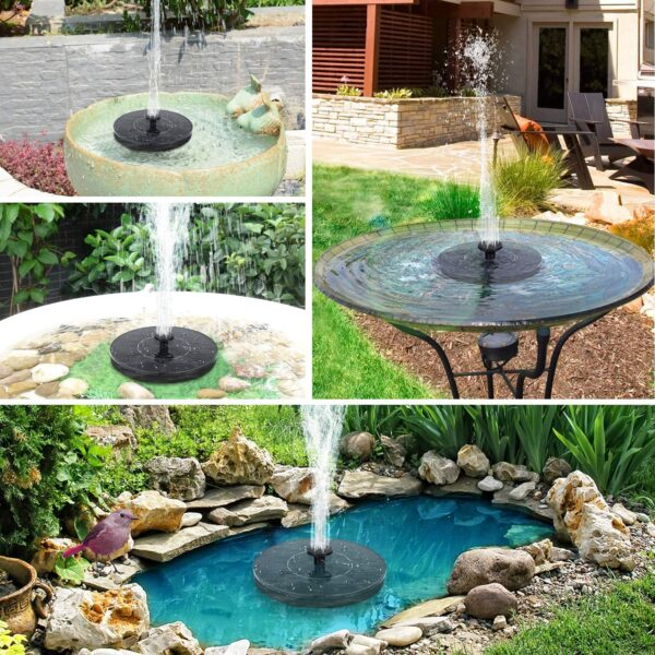 Solar Bird Bath Fountain Pump Upgrade 2020