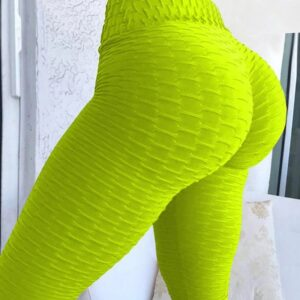 Solid High Waist Fitness Leggings